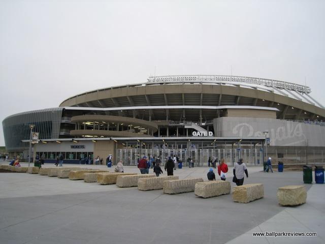 Kauffman Stadium And Arrowhead Stadium